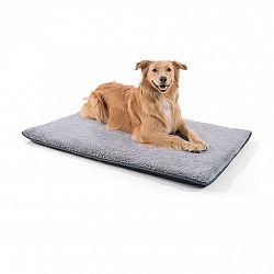 Brunolie Finn, pelíšek pro psa, podložka pro psa, možnost praní, protiskluzový, prodyšný, polyester/plsť, velikost L (120 × 5 × 80 cm)