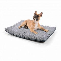 Brunolie Finn, pelíšek pro psa, podložka pro psa, možnost praní, protiskluzový, prodyšný, polyester/plsť, velikost S (68 × 5 × 54 cm)