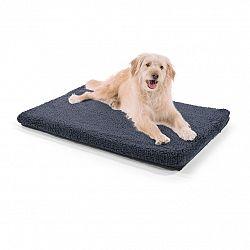 Brunolie Luna, pelíšek pro psa, psí podložka, pratelný, ortopedický, protiskluzový, prodyšný, paměťová pěna, velikost M (80 x 5 x 55 cm)