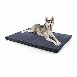 Brunolie Luna, pelíšek pro psa, psí podložka, pratelný, ortopedický, protiskluzový, prodyšný, paměťová pěna, velikost XL (120 x 5 x 85 cm)