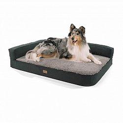 Brunolie Odin, pelíšek pro psa, psí podložka, pratelný, ortopedický, protiskluzový, prodyšný, paměťová pěna, velikost L (120 × 12 × 80 cm)