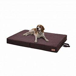 Brunolie Paco, pelíšek pro psa, psí podložka, pratelný, ortopedický, protiskluzový, prodyšný, sklopné, paměťová pěna, velikost L (100 x 10 x 70 cm)