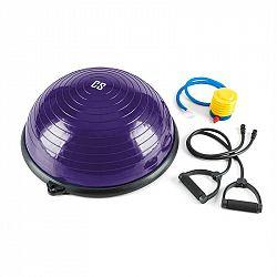 Capital Sports Balance Pro Balance, balanční polokoule, Ø 58 cm PVC/PP, expander, fialová