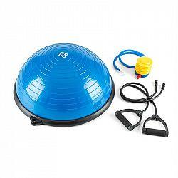 Capital Sports Balance Pro Balance, balanční polokoule, Ø 58 cm PVC/PP, expander, modrá