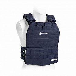Capital Sports Battlevest 2.0, zátěžová vesta, 2x 8,75 lbs (4,0 kg) závaží, modrá