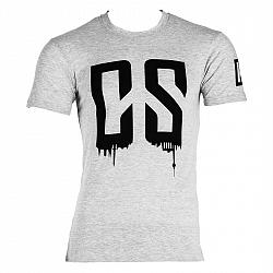 Capital Sports Beforce, velikost L, šedé, tréninkové tričko, pánské