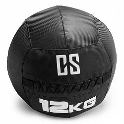 Capital Sports Bravor Wall Ball medicinbal PVC 12kg černá, dvojité švy
