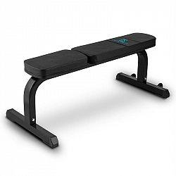 Capital Sports Flat B, černá rovná lavička na činky, 250 kg, ocel
