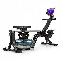 Capital Sports Flow M1, vodní veslovací trenažér, 80 cm, stavitelný, LCD displej, ocel, černý