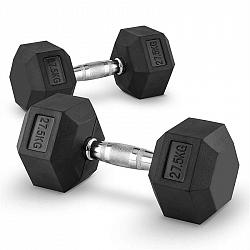 Capital Sports Hexbell 27,5, 27,5kg, ruční činka (Dumbbell)