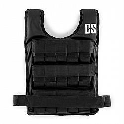 Capital Sports Monstervest, zátěžová vesta, 25 kg, univerzální velikost, nylon, černá