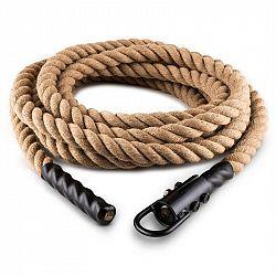 Capital Sports Power Rope, 15 m / 3,3 cm, kyvadlové lano s hákem, stropní připevnění