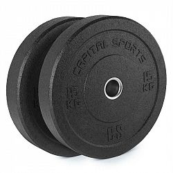 Capital Sports Reni, hi temp gumový kotouč, 50,4 mm, hliníkové jádro, guma, 2x 15 kg