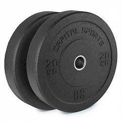 Capital Sports Reni, hi temp gumový kotouč, 50,4 mm, hliníkové jádro, guma, 2x 20 kg