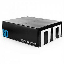 Capital Sports Rookso Soft Jump Box, plyobox, černý, 30 cm