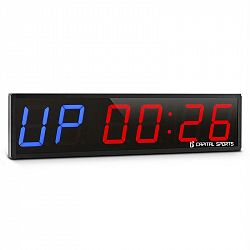 Capital Sports Timer 6, sportovní digitální hodiny se stopkami a 6 číslicemi