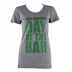 Capital Sports tréninkové triko pro ženy, šedé melírované, velikost XL
