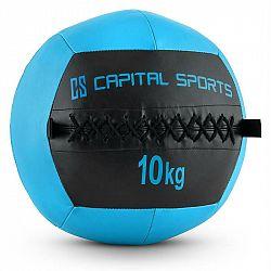 Capital Sports Wallba 10, tmavomodrý, 10 kg, wall ball, syntetická kůže