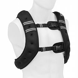 Capital Sports X-Vest, zátěžová vesta, 8 kg, neoprén/nylon, 2 hrudní popruhy, černá