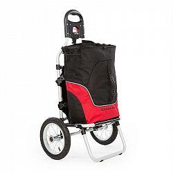DURAMAXX Carry Red, cyklovozík, ruční vozík, max. nosnost 20 kg, černá a červená
