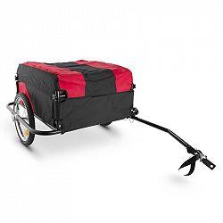 DURAMAXX Mountee, 130 l, 60 kg, přívěs na kolo, nákladní vozík, ocelová tyč