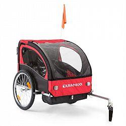 DURAMAXX Trailer Swift, přívěs na kolo pro dítě, 2 sedadla, 20 kg max