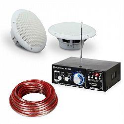 Electronic-Star 4-dílná sada terasového a koupelnového zesilovače s reproduktory, 5