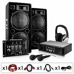 Electronic-Star Block-Party, PA systém, set, zesilovač, repro, mikrofon, 2000 W