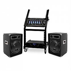 Electronic-Star DJ PA Set Rack Star Series Mercury Beat 250 Personen