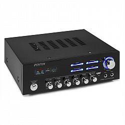 Fenton AV120BT, surround HiFi zesilovač, 120 W RMS, (2 x 60 W na 8 Ohm), BT/USB /AUX