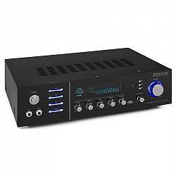 Fenton AV320BT, surround HiFi zesilovač, 200 W RMS, (2 x 100 W na 8 Ohm), BT/USB /AUX