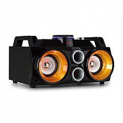 Fenton MDJ100, mediální přehrávač, mediální stanice, USB, SD, BT, AUX, 100W zesilovač, 2x4