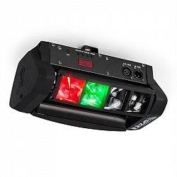 Ibiza LED8-Mini Mini-Spider LED světelný efekt DMX včetně montážního ramene