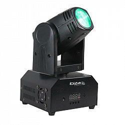 Ibiza LMH250-RC, otočná LED hlava, pohyblivá hlavice, Moving Head, 10 W CREE LED RGBW 4 v 1, DMX, dálkový ovladač