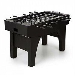 KLARFIT Anfield, stolní fotbal, turnajové rozměry, plné kovové tyče, kuličkové ložisko, černý