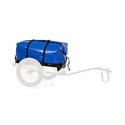 KLARFIT Companion Travel Bag, transportní taška, 120 litrů, nepromokavá, rolovací vrchní část, PU, modrá