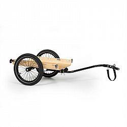KLARFIT Companion Travel, nákladní přívěs, 40 kg, přívěs za kolo, černá/dřevo