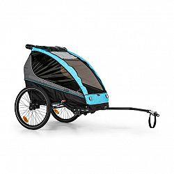 KLARFIT Kiddy King, přívěs na kolo pro děti, joggingový kočárek, 2místný, 40 kg