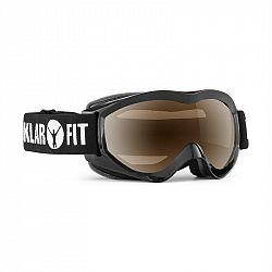 KLARFIT Snow View, černá, lyžařské brýle, snowboardování, REVO vrstva, celorámové