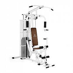 KLARFIT Ultimate Gym 3000, bílá, multifunkční fitness stanice