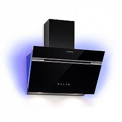 Klarstein Alina, odsavač par, 60 cm, 600m³/h , LED display, světlo, černý