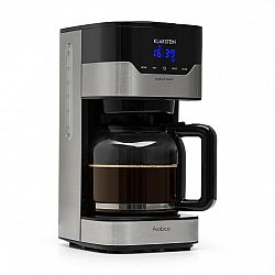 Klarstein Arabica 900W, kávovar, 1.5 l, Easy-touch control, stříbrno/černý