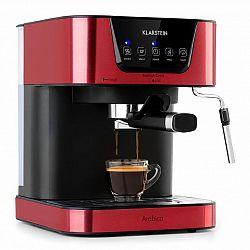 Klarstein Arabica, espresso kávovar, 1050 W, 15 bar, 1,5 l, dotykový ovládací panel, ušlechtilá ocel