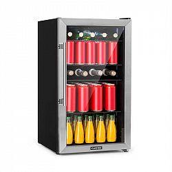 Klarstein Beersafe 3XL, chladnička, 98 l, 4 zásuvné police, 7 úrovní, černá