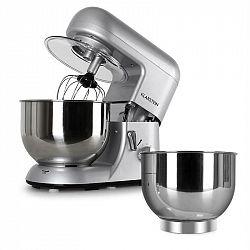 Klarstein Bella Argentea, kuchyňský robot + miska, stříbrná