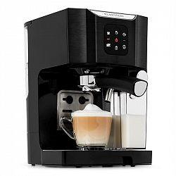 Klarstein BellaVita, kávovar, 1450 W, 20 bar, napěňovač mléka, 3 v 1, černý