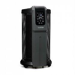 Klarstein Datscha Digital, 360 ° žárový ohřívač, termostat, dálkový ovladač, časovač, 2200W, černý