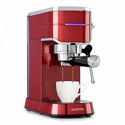 Klarstein Futura, espresso kávovar, 20 bar, 1450 W, 1,25 l, nerezová ušlechtilá ocel
