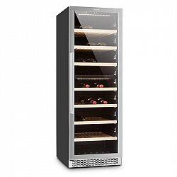 Klarstein Gran Reserva, chladnička na víno, 379 litrů, 166 lahví vína, 2 zóny, dotyková
