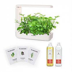 Klarstein GrowIt Cuisine Starter Kit Asia, 10 sazenic, 25W LED, 2 l, Asia Seeds, živný roztok